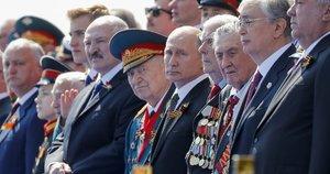 Baltarusijos ir Rusijos lyderiai (nuotr. SCANPIX)