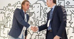 """Lietuvos bankas ir """"Revolut Limited"""" ketvirtadienį pasirašė supratimo memorandumą (nuotr. Organizatorių)"""