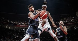 Graikija-JAV (nuotr. FIBA)