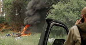 Gaisrai – ir šernams baidyti, ir atliekoms deginti (nuotr. Organizatorių)