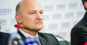 LDSF prezidentas Romualdas Bakutis (nuotr. Fotodiena/Domantas Pipas)