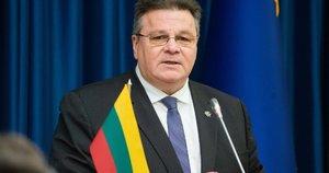 Užsienio reikalų ministras (nuotr. Fotodiena/Justino Auškelio)