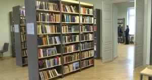 Biblioteka (nuotr. stop kadras)