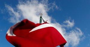 Latvijos vėliava  (nuotr. SCANPIX)