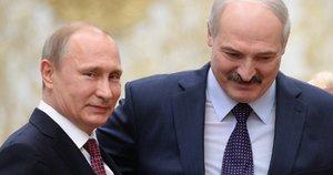 V. Putinas ir A. Lukašenka (nuotr. SCANPIX)