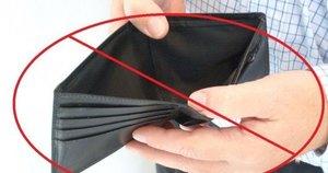 Tuščia piniginė (nuotr. toptenz.net) (nuotr. Balsas.lt)