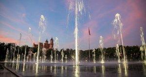Lukiškių fontanas (nuotr. Sauliaus Žiūros)
