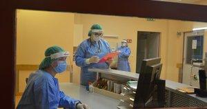 darbas ligoninėje (nuotr. Organizatorių)