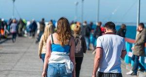 Žmonių laisvalaikis Palangoje (nuotr. Fotodiena/Justinas Auškelis)