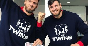 Broliai debiutavo Londone (nuotr. Instagram)