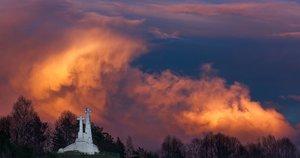 Vilnius, saulėlydis (nuotr. 123rf.com)