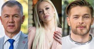 Naglis, Mia, Jurijus, (tv3.lt fotomontažas)
