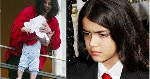 Michael Jackson su sūnumi Prince Michael Jackson II (tv3.lt fotomontažas)