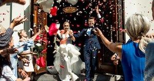 Ernesto Mongino ir Lauros Staržinskaitės vestuvių akimirkos (nuotr. Organizatorių)