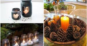 Namų dekoravimo žvakės (nuotr. facebook.com)