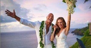Dwayne'o Johnsono vestuvių akimirkos (Hiram Garcia nuotr.) (nuotr. Instagram)