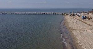 Baltijos jūra (nuotr. stop kadras)