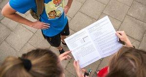 egzaminas (nuotr. Fotodiena/Justino Auškelio)