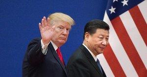 Donaldas Trumpas ir Xi Jinpingas (nuotr. SCANPIX)