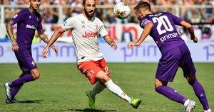 """""""Juventus"""" ir  """"Fiorentina"""" rungtynių akimirka (nuotr. SCANPIX)"""