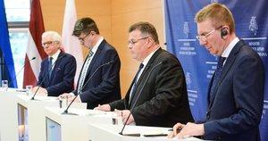 Baltijos šalių ir Lenkijos užsienio reikalų ministrų susitikimas (nuotr. Fotodiena)