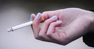 Rūkymas (nuotr. Fotodiena.lt/Pauliaus Peleckio)