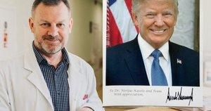 """""""Po operacijos visus išrašus pacientės dukra persiuntė į Baltuosius rūmus ir jie buvo parodyti vadovaujantiesiems JAV medicinos specialistams. Pastarieji atsakė, kad viskas buvo atlikta be priekaištų ir nieko geriau jie nebūtų pasiūlę. Vadinasi, Respublik (nuotr. asm. archyvo)"""