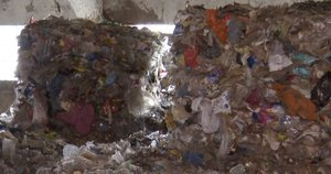Plastiko atliekos (nuotr. stop kadras)