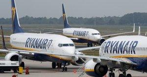 """""""Ryanair"""" lėktuvai (nuotr. SCANPIX)"""