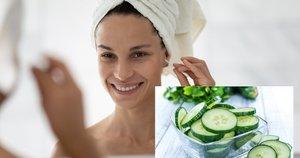 Veidrodį patepkite griežinėliu agurko (nuotr. Shutterstock.com)