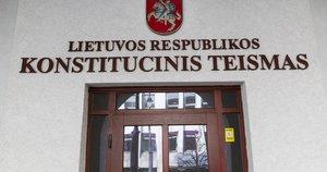 Konstitucinis Teismas Vygintas Skaraitis/Fotobankas