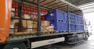 Pašto siuntas gabenusiame vilkike muitininkai aptiko beveik pusės milijono eurų vertės kontrabandą