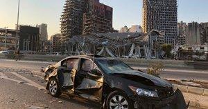 Didžiulis sprogimas Beirute (nuotr. SCANPIX)