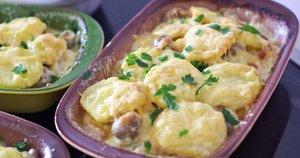 Bulvių apkepas su lašiša (Nuotr. Oditėlės blogas)