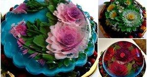 Želės tortai atrodo lyg meno kūriniai (nuotr. asm. archyvo)