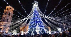 Vilniaus Kalėdų elgei – pagyros: amerikiečiai pamilo sostinės vaizdus (nuotr. SCANPIX)