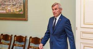 Prezidento ir Seimo pirmininko susitikimas (nuotr. Fotodiena/Matas Baranauskas)