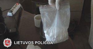 Nuteisė narkotikus pardavinėjusius klaipėdiečius: konfiskavo beveik 100 tūkst. eurų (nuotr. Lietuvos policija)