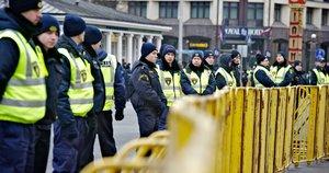 Latvijos policija (nuotr. SCANPIX)