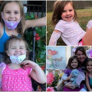 Mamos širdis plyšta iš skausmo: dukrai teko amputuoti koją dėl žoliapjovės kaltės