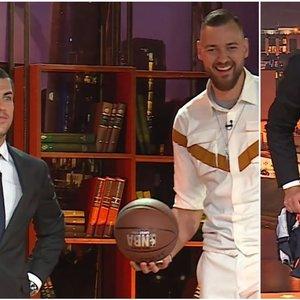 Jankevičius pralaimėjo lažybas krepšininkui Motiejūnui: teko nusivilkti trumpikes
