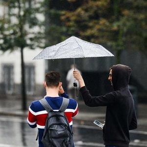 Orai nedžiugins: vietomis pils gana smarkiai