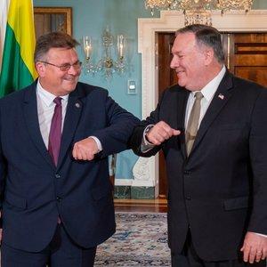 Linkevičius: JAV ir Lietuva drauge palaiko Baltarusijos žmones kovoje už demokratiją