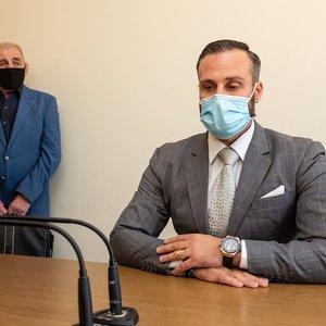 Smurtu įtariamas Kandelis išgirdo nuosprendį: pripažintas kaltu