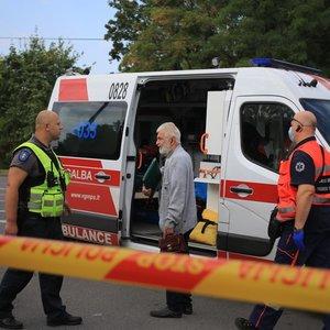 Į penkių automobilių avariją Vilniuję patekę žmonės: buvo labai baisu