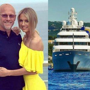 Milijardierius su Modesta aprodė prabanga tviskančią jachtą: joje apsilankyti gali kiekvienas, tačiau turės nemenkai paploninti piniginę