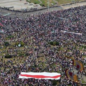 Tyrimas: didesnė Lietuvos gyventojų dalis pritaria valdžios reakcijai į įvykius Baltarusijoje