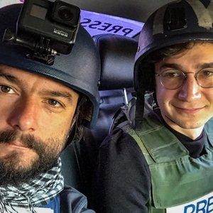 Iš karo zonos: TV3 žurnalistas – apie kaulų čiulpus drebinantį sprogimą