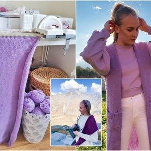 Vilniečių šeima sugalvojo, kaip panaudoti senus megztinius: jų idėja sužavėjo šimtus
