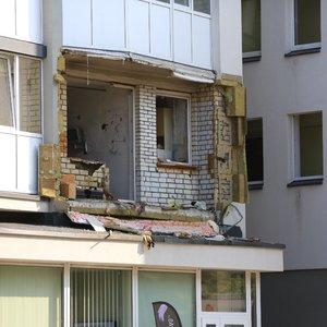 Liudininkai apie sprogusį butą Vilniuje: nelaimė įvyko skandalais garsėjančio vilniečio bute